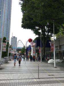 東京ドームシティ通路