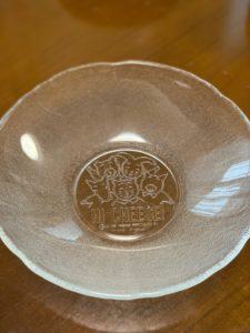 ミスドガラス皿