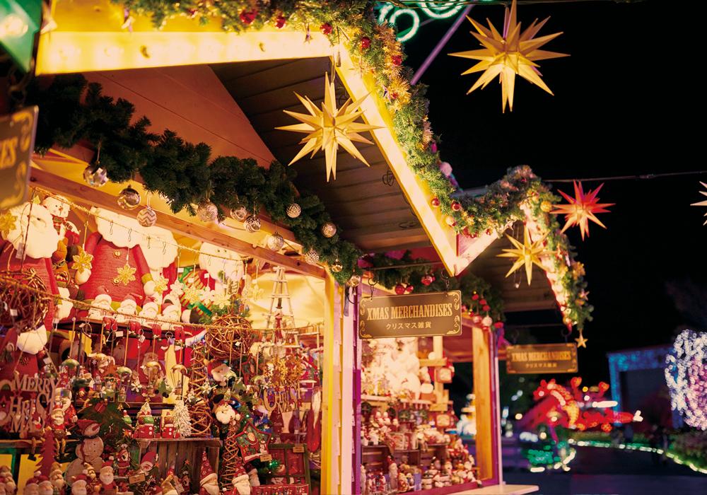 ハウステンボスのクリスマス イルミ 光の王国 オススメ口コミ